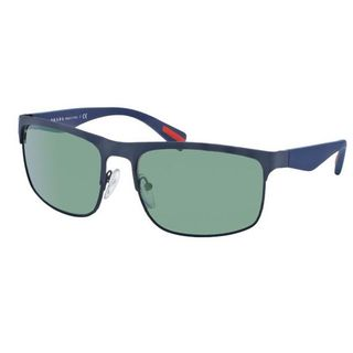 Prada Sport PS056PS-TFY3C0 Sport Light Green Mirror Petrol Sunglasses