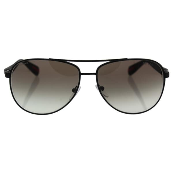 a57abdd1c6 Shop Prada Sport PS51OS-DG00A7 Aviator Grey Gradient Sunglasses ...