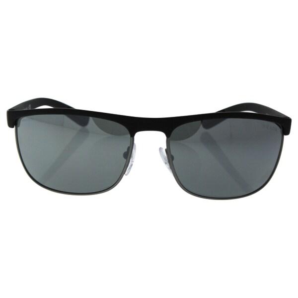 06396ed4a168 Shop Prada Sport PS54QS-DG07W1 Sport Grey Mirror Silver Sunglasses ...
