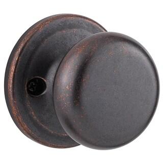 Kwikset Signature Series 97300-831 Rustic Bronze Juno Bed & Bath Privacy Knob