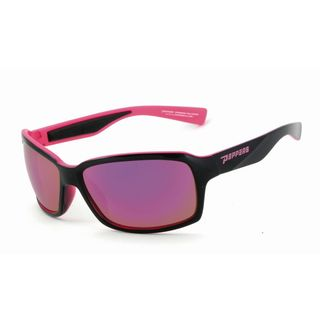 Peppers FM7357-19 Sport Brown TAC-Tical Polarized with Diamond Pink Mirror Sunglasses