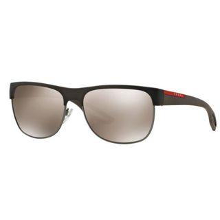 Prada Sport PS57QS-UBY1C0 Sport Light Brown Mirror Gold Sunglasses