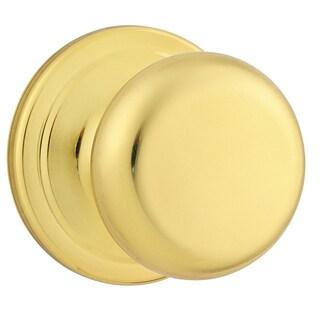 Kwikset Signature Series 97200-787 Polished Brass Juno Passage Knob
