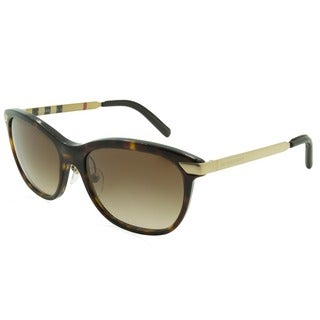 Burberry BE4169Q-300213 Square Brown Gradient Sunglasses