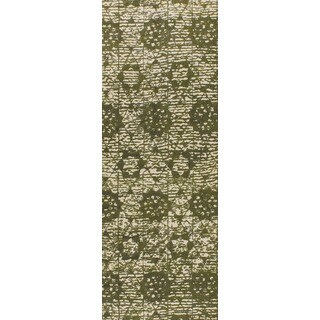 "M.A.Trading Hand-woven Baltimore Green (2'6""x8')"