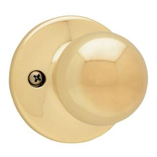 Kwikset 94880-367 Bright Brass Polo Dummy Knob
