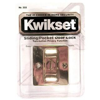 Kwikset 93330-017 Pocket Door Locking Pull