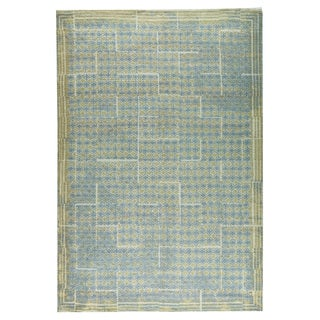 M.A.Trading Hand-woven Burbank Grey/Beige (2'x3')