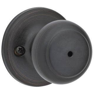 Kwikset 93001-630 Venetian Bronze Cove Privacy Knob Lockset