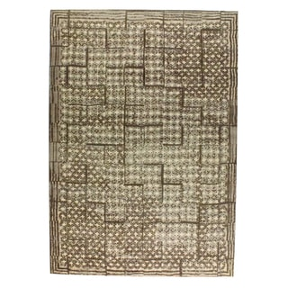M.A.Trading Hand-woven Burbank Dark Brown (8'x10')