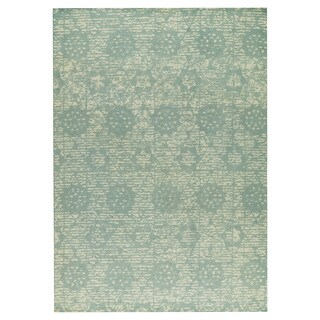 M.A.Trading  Hand-woven Baltimore Light Blue (2'x3')