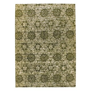 M.A.Trading Hand-woven Baltimore Green (2'x3')
