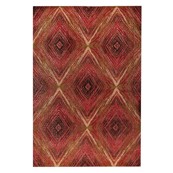 Handmade M.A.Trading Lansing Red/Multi - 8' x 10' (India)