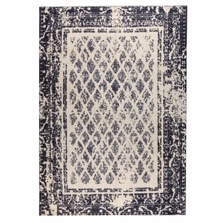 M.A.Trading Hand-woven Corona Charcoal/Grey (9'x12')