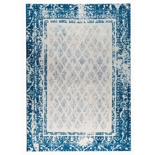 M.A.Trading Hand-woven Corona Blue (9'x12')