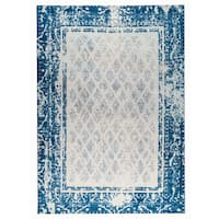 M.A.Trading Hand-woven Corona Blue - 9' x 12'