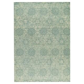 M.A.Trading Hand-woven Baltimore Light Blue (8'x10')