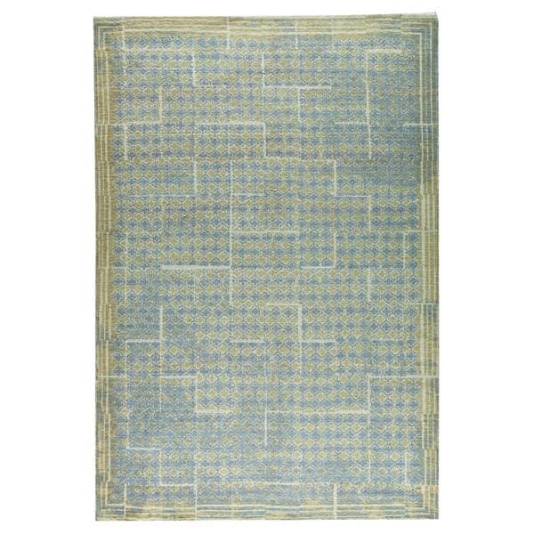 M.A.Trading  Hand-woven Burbank Grey/Beige (5'x8')