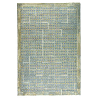 M.A.Trading Hand-woven Burbank Grey/Beige (5'x8')