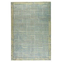 M.A.Trading Hand-woven Burbank Grey/Beige - 5' x 8'