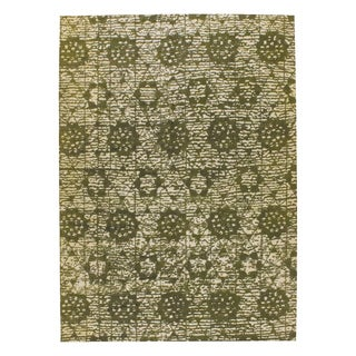 M.A.Trading Hand-woven Baltimore Green (9'x12')