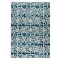M.A.Trading Hand-woven Lakeland Green - 5' x 8'