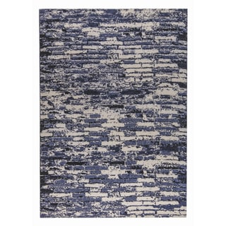 M.A.Trading Hand-woven Fargo Charcoal/Grey (5'x8')