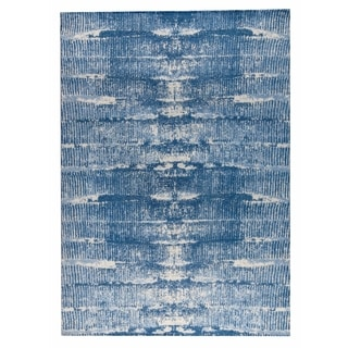 M.A.Trading Hand-woven Jackson Blue (5'x8')