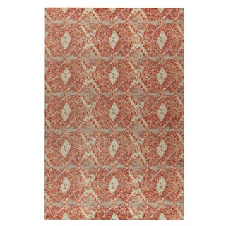 M.A.Trading Hand-woven Lakeland Red (4'x6')