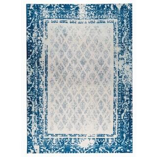 M.A.Trading Hand-woven Corona Blue (5'x8')
