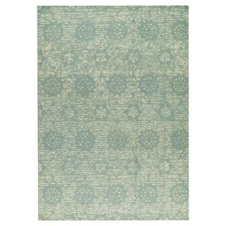 M.A.Trading Hand-woven Baltimore Light Blue (5'x8')