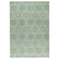 M.A.Trading Hand-woven Baltimore Light Blue - 5' x 8'