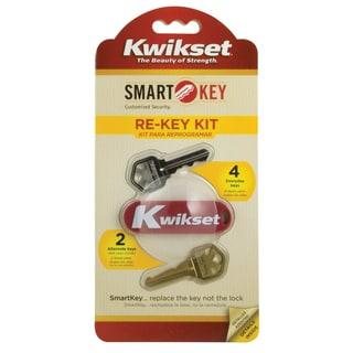 Kwikset 83262-001 SmartKey Re-Key Kit