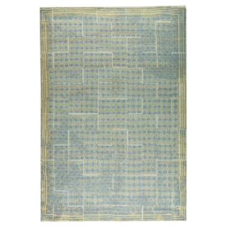 M.A.Trading Hand-woven Burbank Grey/Beige (4'x6')