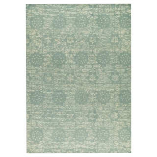 M.A.Trading Hand-woven Baltimore Light Blue (4'x6')