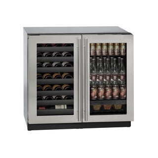 U-Line 3000 Series 3036BEV - 36 Inch Stainless Steel Beverage Center / Wine Cooler