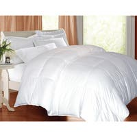 Hotel Grand Oversized 600 Thread Count Medium Warmth White Goose Down Comforter