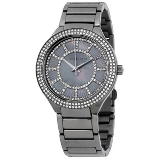 Michael Kors Women's MK3410 Grey MOP Watch