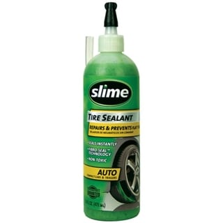 Slime 16-ounce TPMS Safe Tire Sealant Bottle