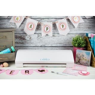 Silhouette Cameo 3 White Bluetooth Die Cutting Machine|https://ak1.ostkcdn.com/images/products/12501102/P19309180.jpg?impolicy=medium