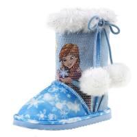 Disney Girls' Frozen Faux-fur Winter Boots