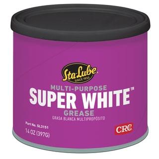 CRC SL3151 14 Oz Multi Purpose Super White Lithium Grease