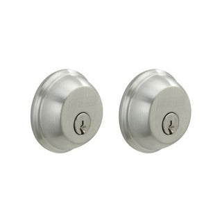 Schlage B62CSV626 Chrome Double Cylinder Deadbolt