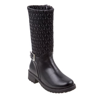 Nanette Lepore Girls Boots with Side Buckle Strap