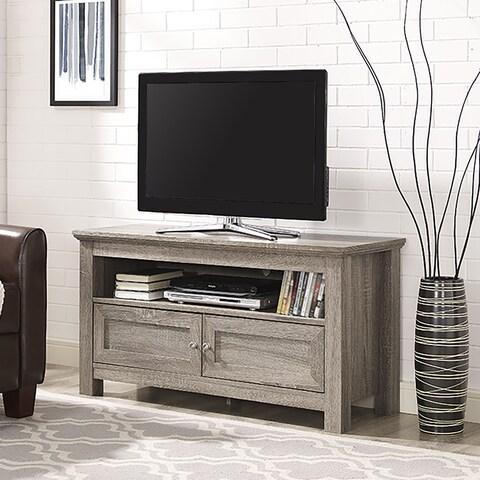Pine Canopy Lassen 44-inch Driftwood TV Stand