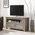 44-inch Wood TV Stand - Driftwood