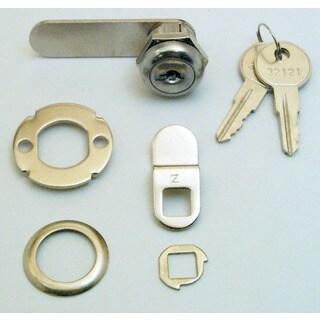 """Prime Line U9941 5/8"""" Chrome Finished Drawer & Cabinet Lock"""