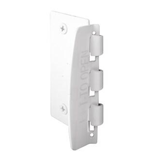 """Prime Line U9888 2-3/4"""" White Steel Flip Action Door Lock"""