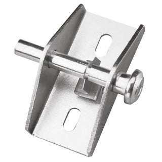"Prime Line U9853 1"" X 2"" Zinc Plated Steel Patio Door Lock"