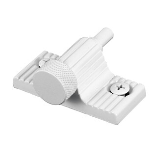 Prime Line U9850 White Twist-In Patio Door Lock